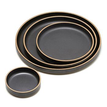 HASAMI PORCELAIN ハサミポーセリン/Plate Black プレート ブラック(4サイズ)