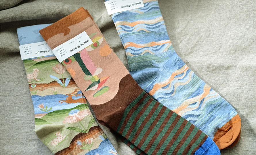Bonne Maison ボンメゾン/レディースソックス 靴下(5種)のイメージ画像