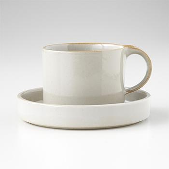 moderato モデラート/cup and saucer カップ&ソーサー グレー