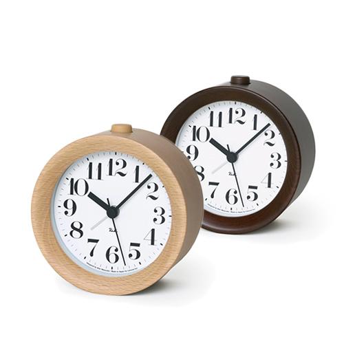 Lemnos レムノス/渡辺力 Riki Alarm Clock  アラーム時計