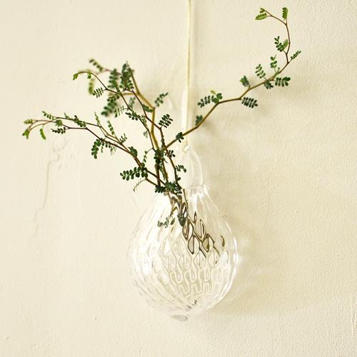 河上智美/ミニつるし花器 イチゴ