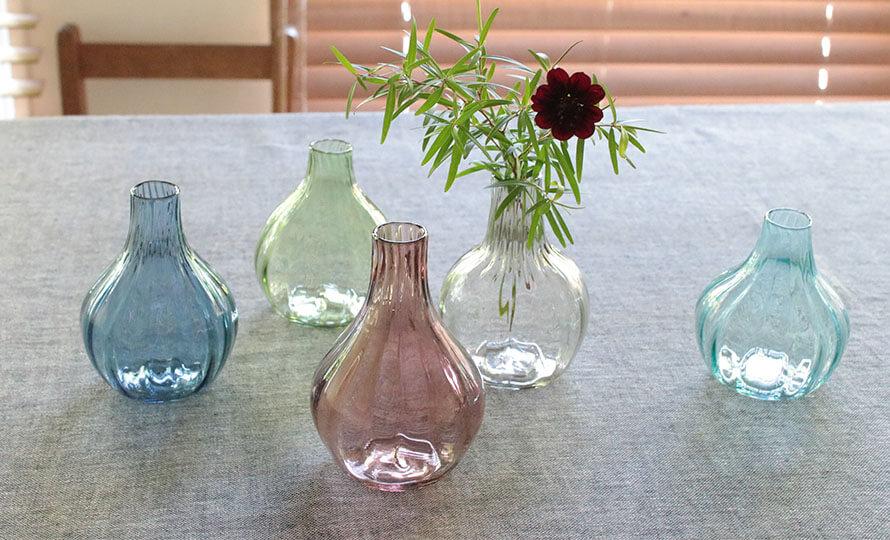 河上智美 かわかみともみ/ミニ花器モール カラー(6種)のイメージ画像