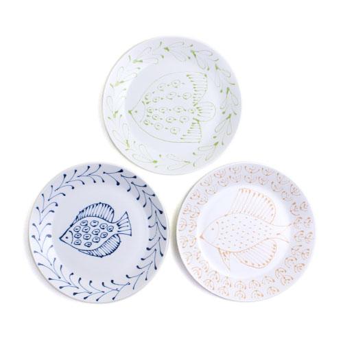 Pebble Ceramic Design Studio 石原亮太/パン皿 フィッシュ 1点もの(3種)