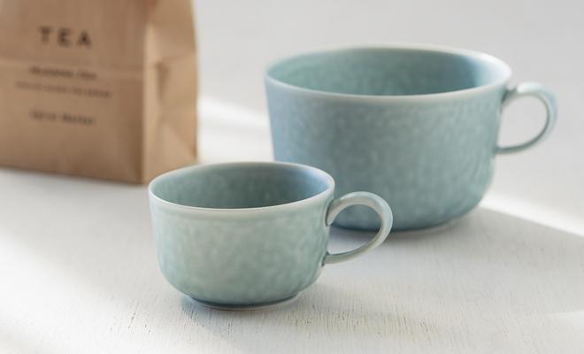 yumiko iihoshi porcelain/「ReIRABO リイラボ」cup spring mint green(S・M・L)