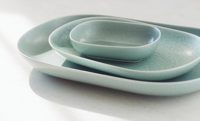 yumiko iihoshi porcelain「ReIRABO リイラボ」spring mint green
