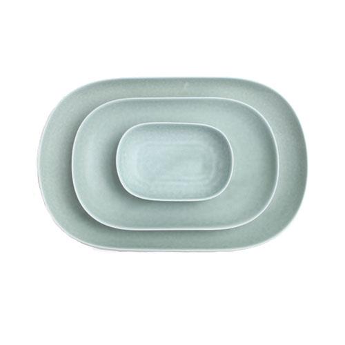 イイホシユミコ yumiko iihoshi porcelain/「ReIRABO リイラボ」oval plate オーバルプレート spring mint green(S・M・L)