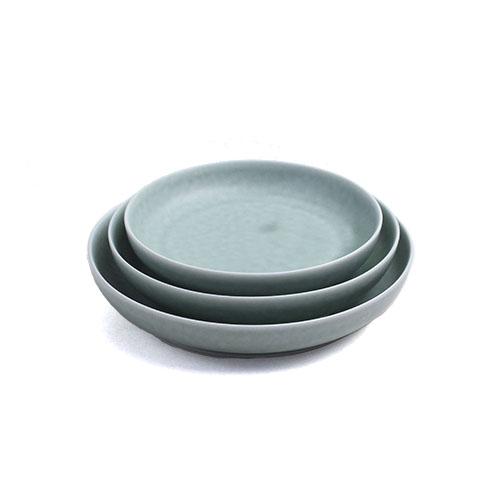 イイホシユミコ yumiko iihoshi porcelain/「ReIRABO リイラボ」round plate ラウンドプレートspring mint green(S・M・L)