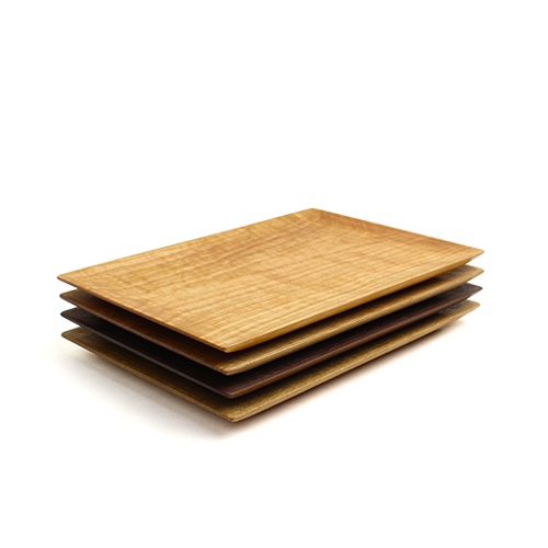 川端健夫/木製 トースト皿(4種)