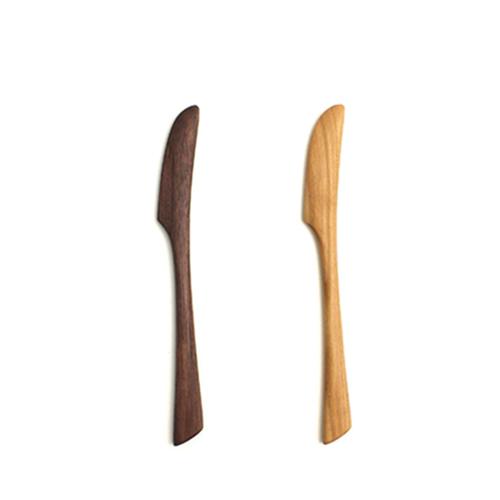川端健夫/木製 バターナイフ(2種)