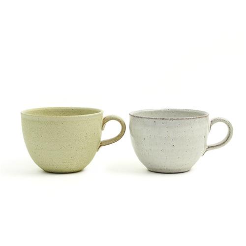 萩原千春(はぎはらちはる)+S/マグカップ(シュガーグリーン・アイシング)