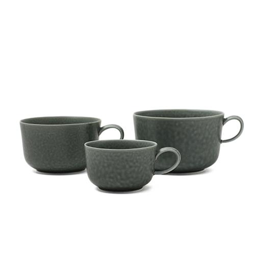 イイホシユミコ yumiko iihoshi porcelain/「ReIRABO リイラボ」cup カップ winter night gray(S・M・L)