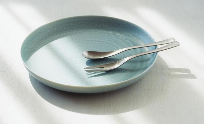 yumiko iihoshi porcelain/「ReIRABO リイラボ」round plate spring mint green(27.5cm)