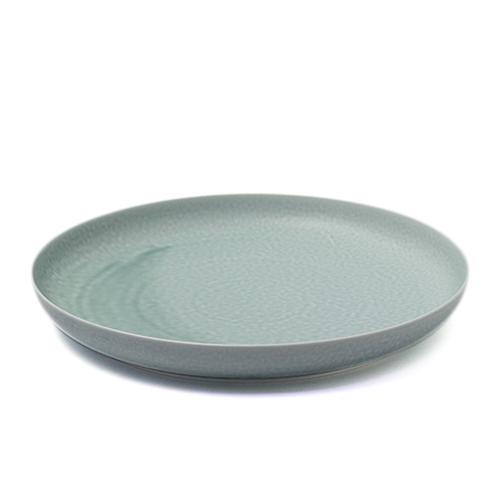 イイホシユミコ yumiko iihoshi porcelain/「ReIRABO リイラボ」round plate ラウンドプレート spring mint green(27.5cm)