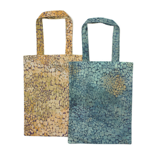 浦佐和子 うらさわこ/トートバッグ「Sammal kukkii(サンマル クッキイ)苔の花」(2色)