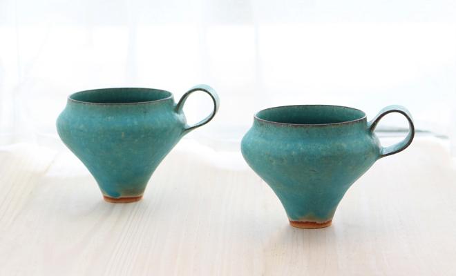 鈴木麻起子 Turkish ターキッシュ teacup ティーカップが並んだ画像