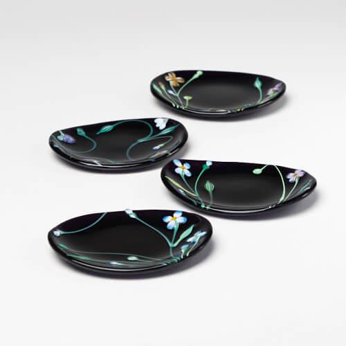 松下高文 まつしたたかふみ/まめ皿(5種)