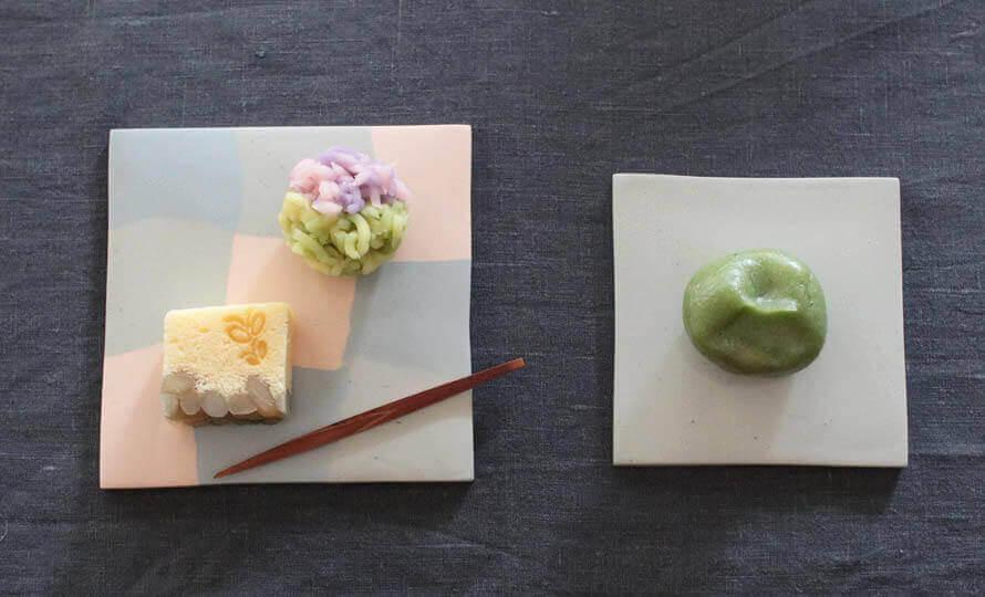 Satoko Sai+Tomoko Kurahara/nerikiri plate L プレート