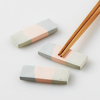 Satoko Sai+Tomoko Kurahara/nerikiri piece 箸置き