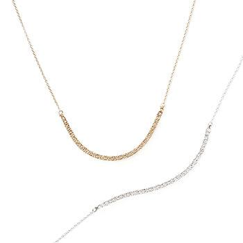 sumikaneko スミカネコ/snake chain necklace スネークチェーン ネックレス(2種)