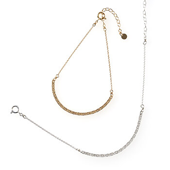 sumikaneko スミカネコ/snake chain bracelet スネークチェーン ブレスレット(2種)
