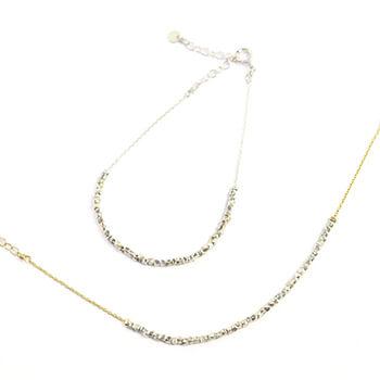 sumikaneko スミカネコ/square beads bracelet スクエアビーズ ブレスレット(2種)