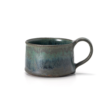 平野日奈子 ひらのひなこ/結晶コバルト マグカップ