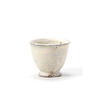 平野日奈子 ひらのひなこ/煎茶 湯呑(粉引)
