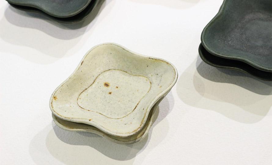 平野日奈子 ひらのひなこ/菱形豆皿(2種)のイメージ画像