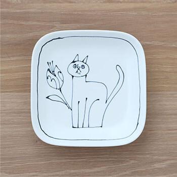 Pebble Ceramic Design Studio 石原亮太/スクエアプレート 1点もの(6種)