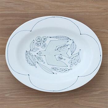 Pebble Ceramic Design Studio 石原亮太/オーバルプレートL 1点もの(5種)
