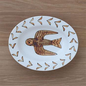 Pebble Ceramic Design Studio 石原亮太/オーバルプレートM 1点もの(6種)