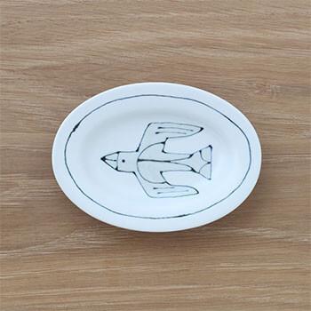 Pebble Ceramic Design Studio 石原亮太/オーバルプレートSS 1点もの(6種)
