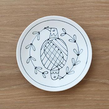 Pebble Ceramic Design Studio 石原亮太/ケーキ皿 1点もの(4種)