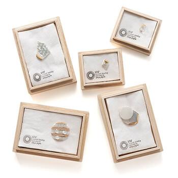 UU ceramic jewelry and objects ウウ セラミックジュエリー アンド オブジェクツ/イヤリング(13種)