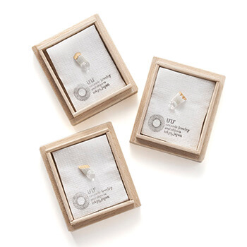 UU ceramic jewelry and objects ウウ セラミックジュエリー アンド オブジェクツ/スタッズピアス(6種)