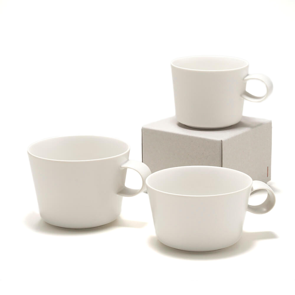 イイホシユミコ yumiko iihoshi porcelain/「unjour アンジュール」カップ yuki(3サイズ)