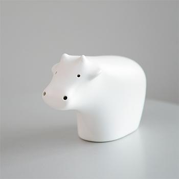 Pebble Ceramic Design Studio 石原亮太/うしのオーナメント