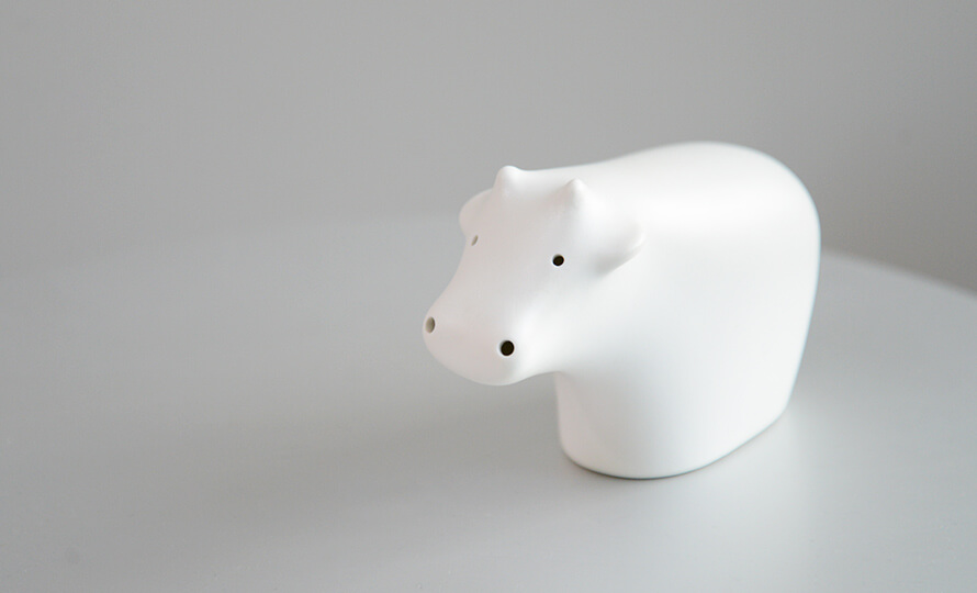 Pebble Ceramic Design Studio 石原亮太/ねずみのオーナメントのイメージ画像