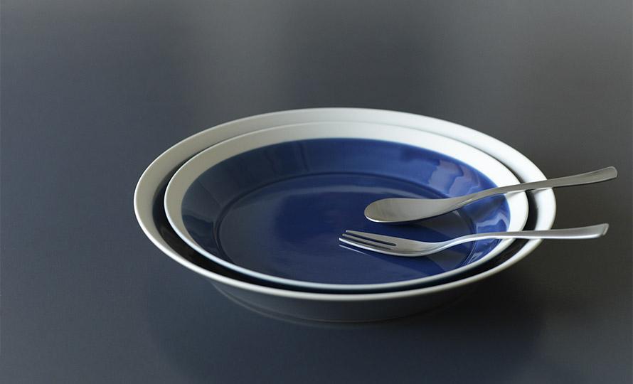 イイホシユミコ yumiko iihoshi porcelain/「dishes ディッシーズ」plate プレート 23cm(2色)のイメージ画像