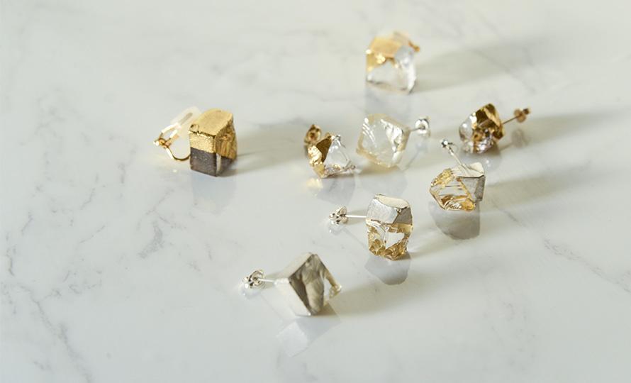 sorte glass jewelry ソルテグラスジュエリー/SGJ-019・020 ガラス イヤリング