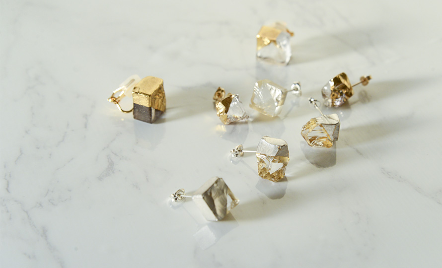 sorte glass jewelry ソルテグラスジュエリー/SGJ-019・020 ガラス フックピアス