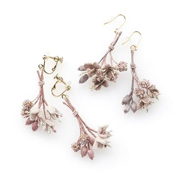Veriteco ヴェリテコ/「blossom bouquet」ピアス イヤリング(2種)