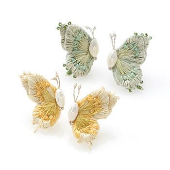 Veriteco ヴェリテコ/「蝶々」ピアス(2種)