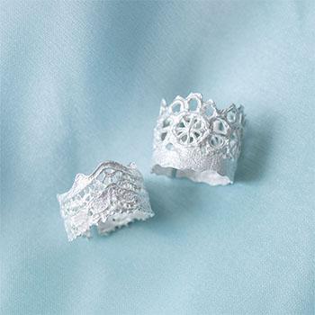 YUKI FUJISAWA / Lace Ring(2種)