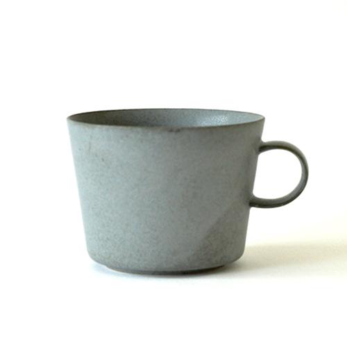 イイホシユミコ yumiko iihoshi porcelain/「unjour アンジュール」 matin(朝) カップ(smoke blue)