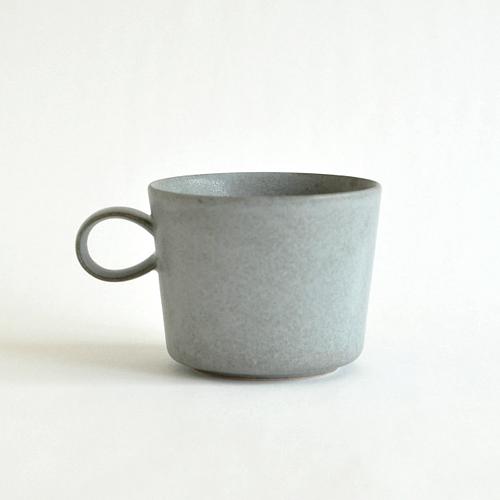 イイホシユミコ yumiko iihoshi porcelain/「unjour アンジュール」 nuit(夜更け) カップ(smoke blue)