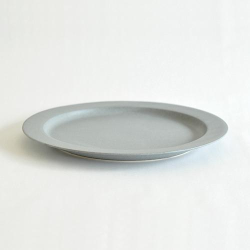 イイホシユミコ yumiko iihoshi porcelain/「unjour アンジュール」 matin(朝) プレート(smoke blue)