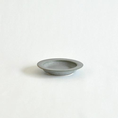 イイホシユミコ yumiko iihoshi porcelain/「unjour アンジュール」 nuit(夜更け) プレート(smoke blue)