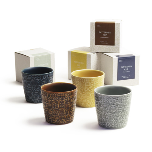 BIRDS'WORDS バーズワーズ/「PATTERNED CUP」カップ(4種)