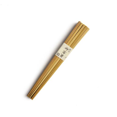 公長齋小菅 こうちょうさいこすが/竹製御客箸 10膳セット